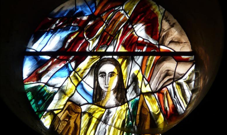 ©OTASV - Thueyts - Vitraux église Thueyts - Vitraux église St Jean Baptiste-2 ©OTASVSt Jean Baptiste-3 ©OTASV