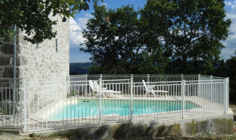 Clévacances - Le Magnan -  La piscine