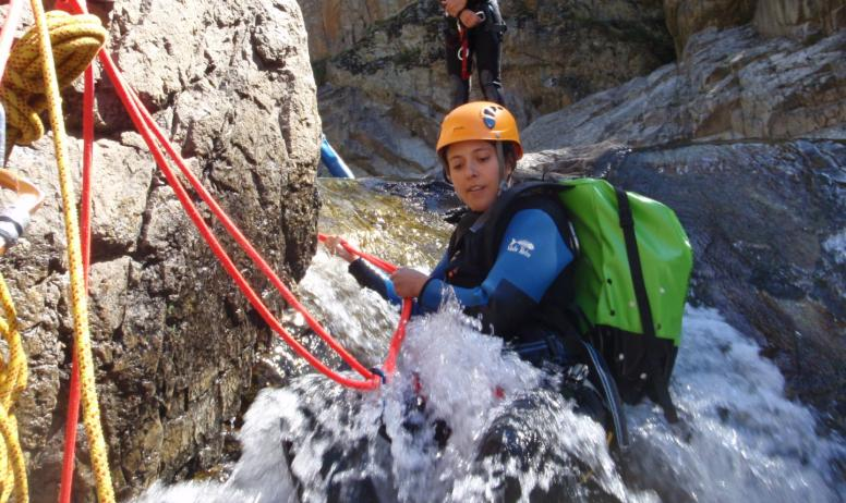 Ardèche équilibre - Canyoning