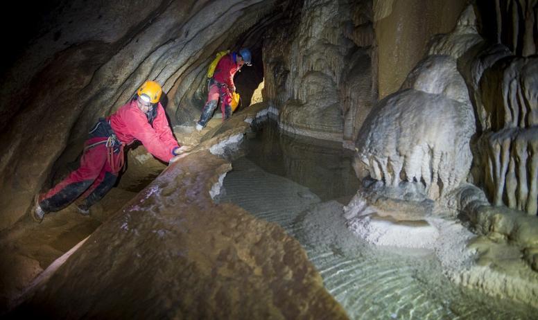 Cyril Crespeau - SpéléOenologie®, Grotte de Saint Marcel d'Ardèche