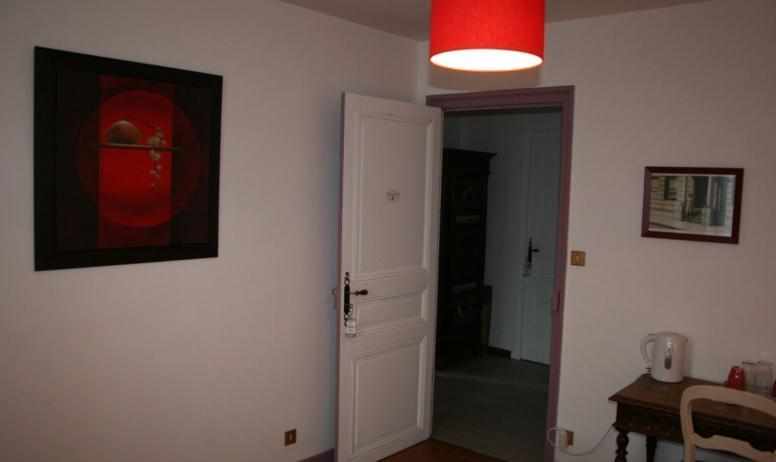 Clévacances - La chambre Coquelicot