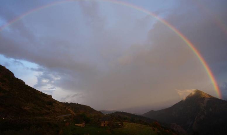 Gaetan Riou - Arc en ciel paysage