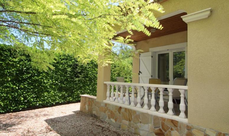 Gîtes de France - la terrasse couverte