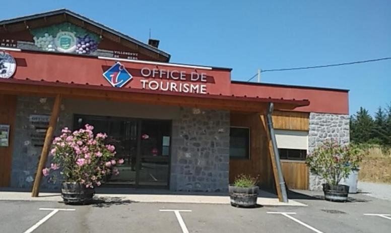 Office de Tourisme Berg et Coiron - Entrée Office de Tourisme Berg et Coiron