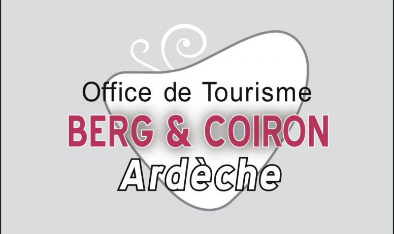 Office de Tourisme Berg et Coiron - Logo Office de Tourisme Berg et Coiron