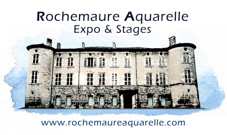 © Aquarelle de Rochemaure - Logo Aquarelle de Rochemaure