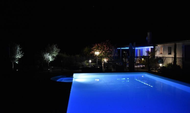 Gîtes de France - vue de nuit