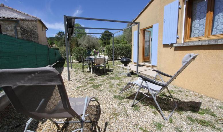 Gîtes de France - terrasse privée
