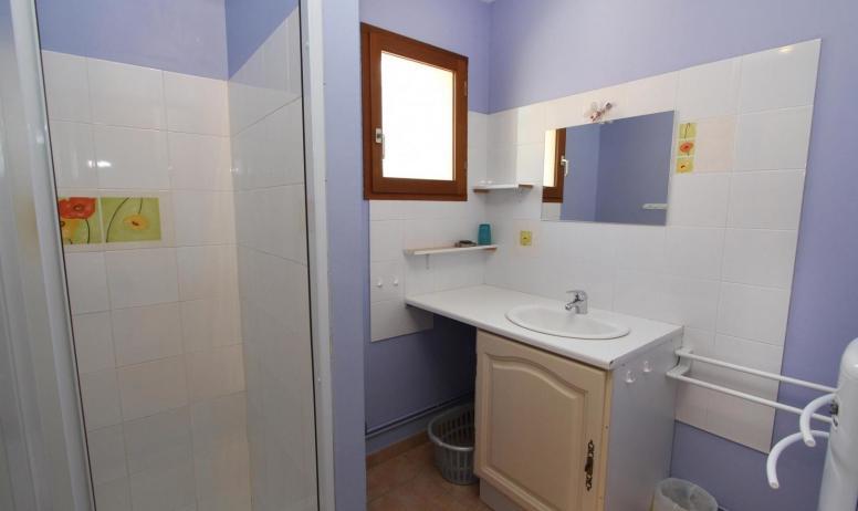 Gîtes de France - salle d'eau