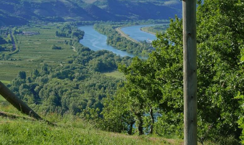Ardèche Hermitage Tourisme - Poteau de randonnée