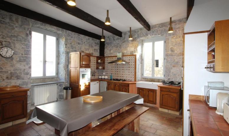 Gîtes de France - Autre vue de la cuisine