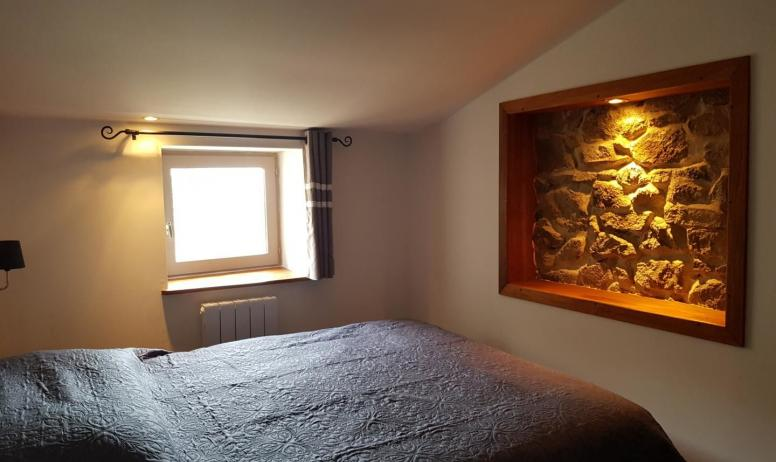 Gîtes de France - Chambre avec lit 160