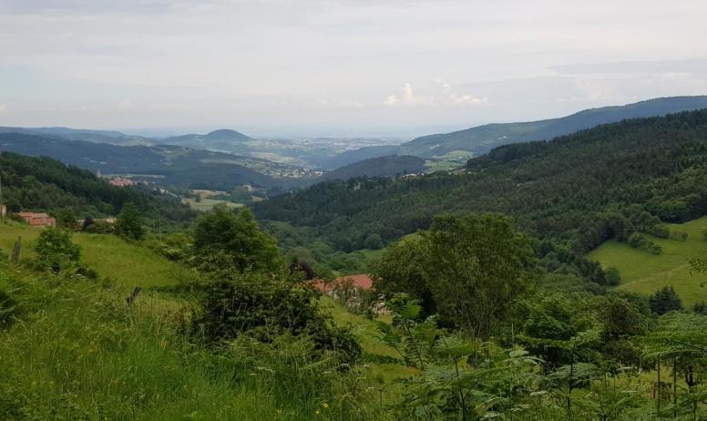 Gîtes de France - Vue de la vallée