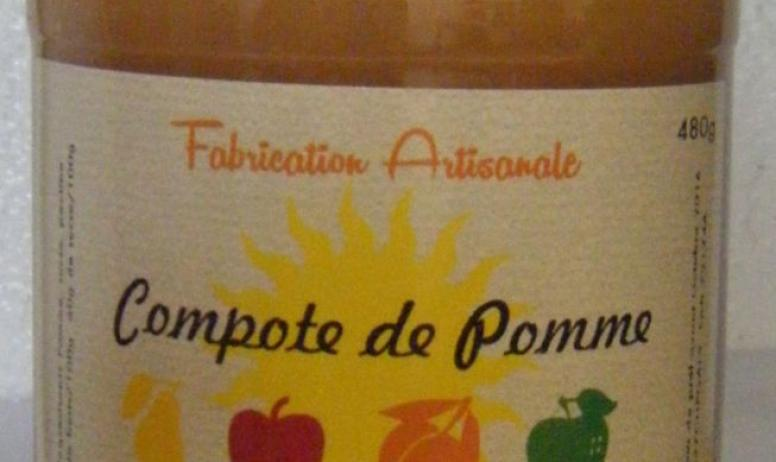 Phidine Fruits - Compote Pomme