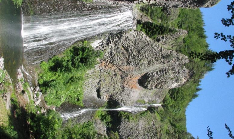 Bastide de Fontaille - cascade