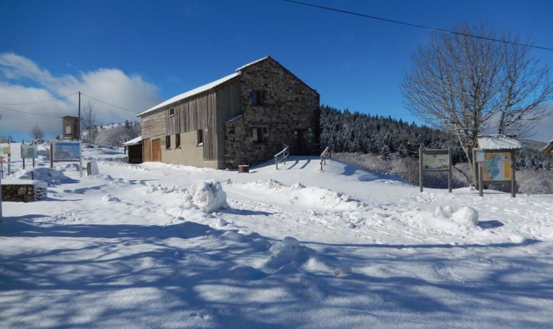 Gîtes de France - une belle journée de neige