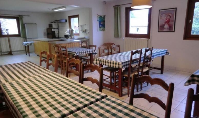 Gîtes de France - côté salle à manger du gîte