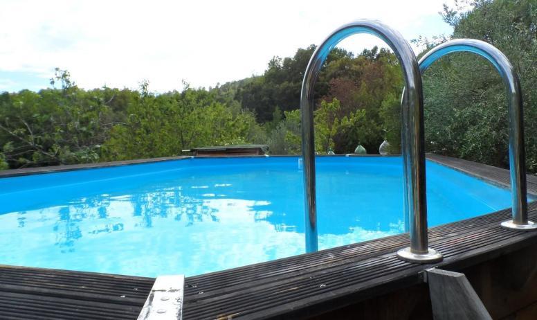 Gîtes de France - piscine hors sol 8x4