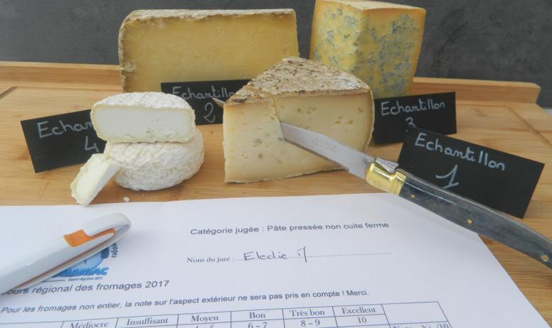 Le Plateau Gastronome - Concours régional Auvergne Rhône Alpes des fromages AOP IGP