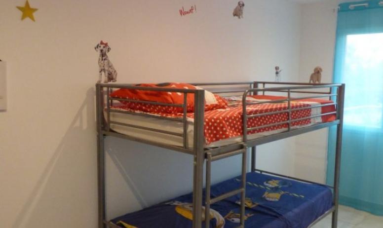 Clévacances - chambre enfants