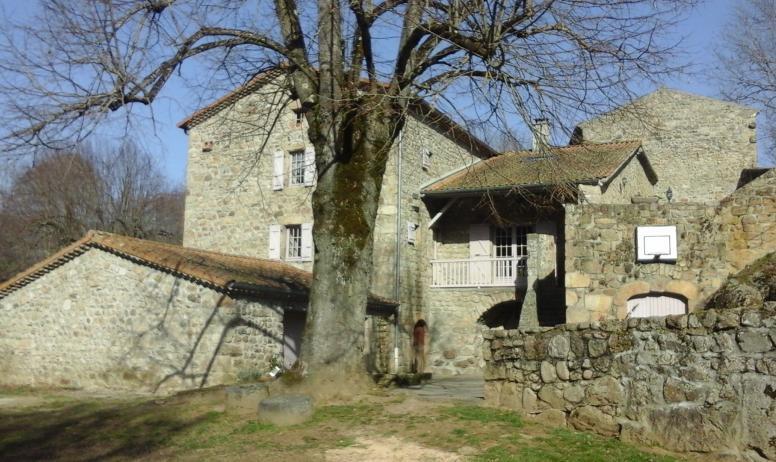 Moulin de Bozas - Vue d'ensemble de la maison