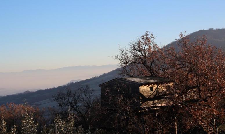 Gîtes de France - vue  sur la vallée du Rhône