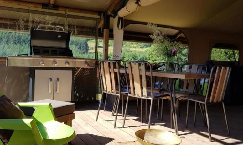 Gîtes de France - Super BBQ sur la terrasse