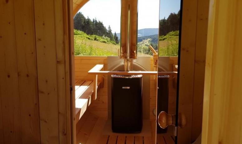 Gîtes de France - Intérieur sauna