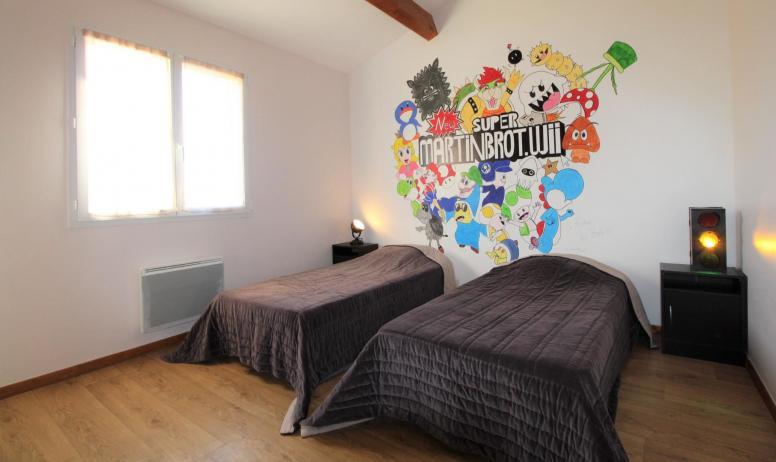 Gîtes de France - 6e chambre située à l'étage