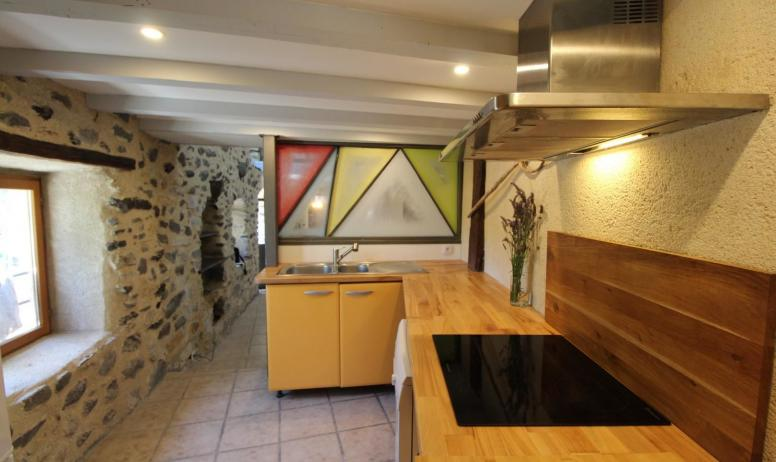 Gîtes de France - le coin cuisine