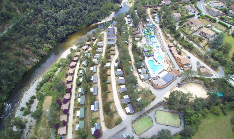 Magnifiques équipements à Eyrieux Camping !