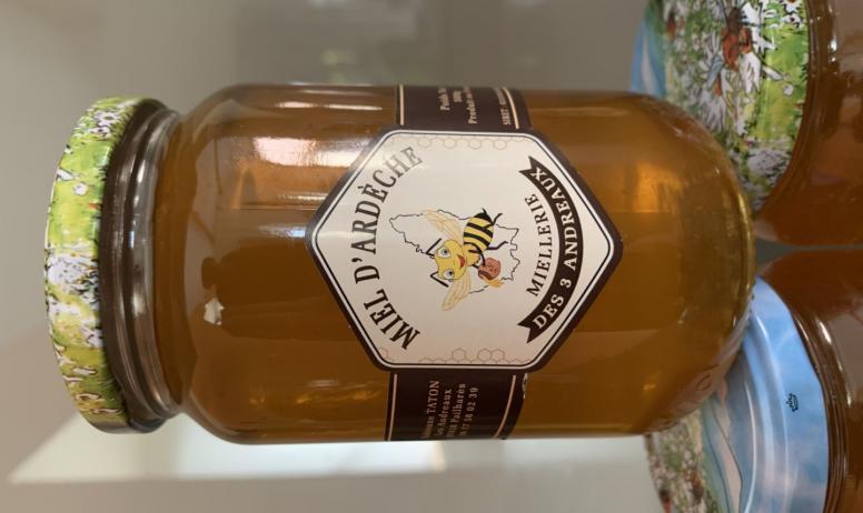 La miellerie des 3 Andreaux - Pot de miel