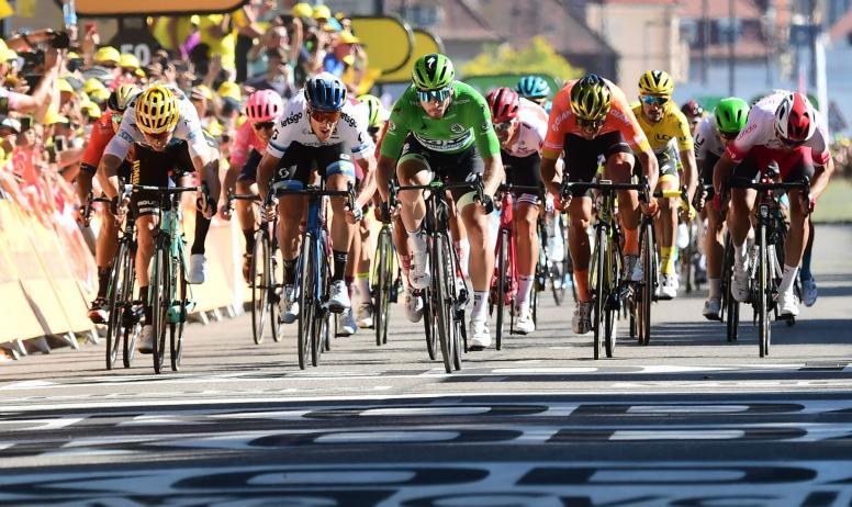 ABroadway - Arrivée du Tour de France