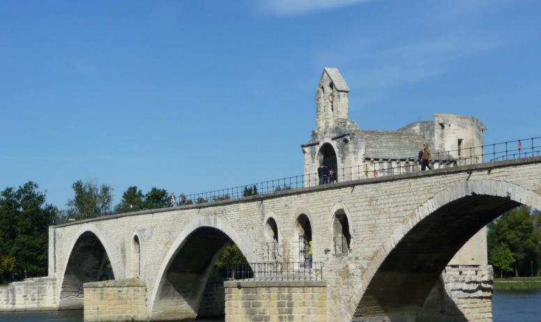 Vision du Monde - La ViaRhôna de Vienne en Avignon - Avignon, Pont Saint-Benezet