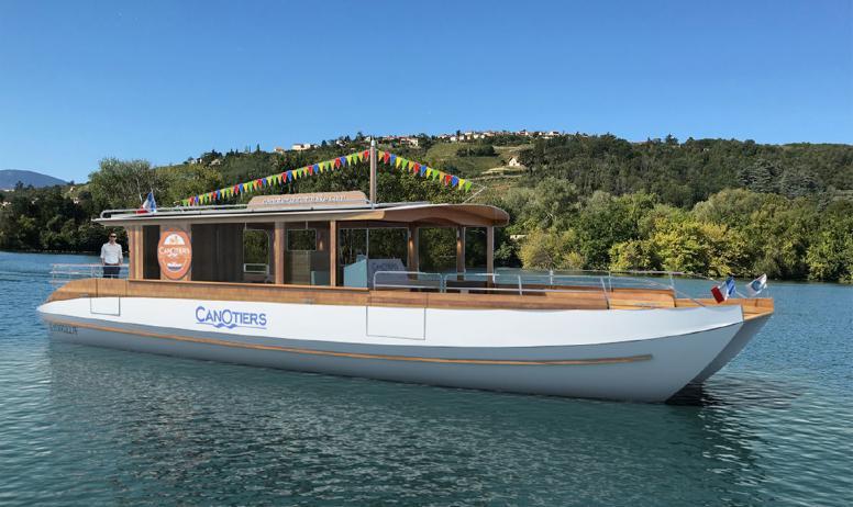 Les canotiers - Croisière diner la belle Epoque
