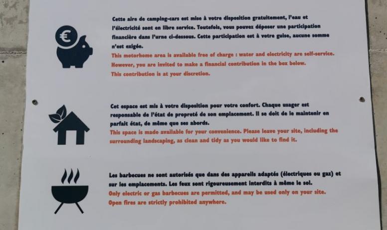 ©Thibault Mandon - Aire de service camping-cars