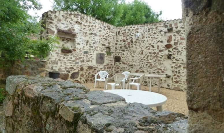 Gîtes de France - terrasse sud