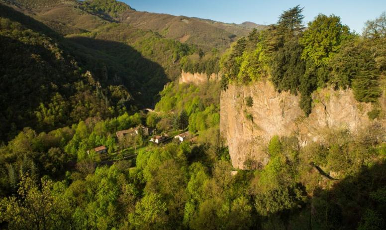 ©S.BUGNON - Thueyts - Coulée basaltique de la Chaussée des Géants ©S.BUGNON