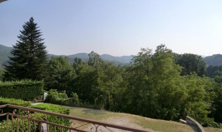 Gîtes de France - vue depuis la terrasse