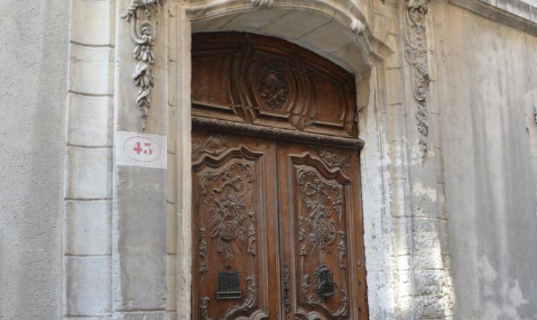 OTI du Rhône aux Gorges de l'Ardèche - Porte de l'hôtel