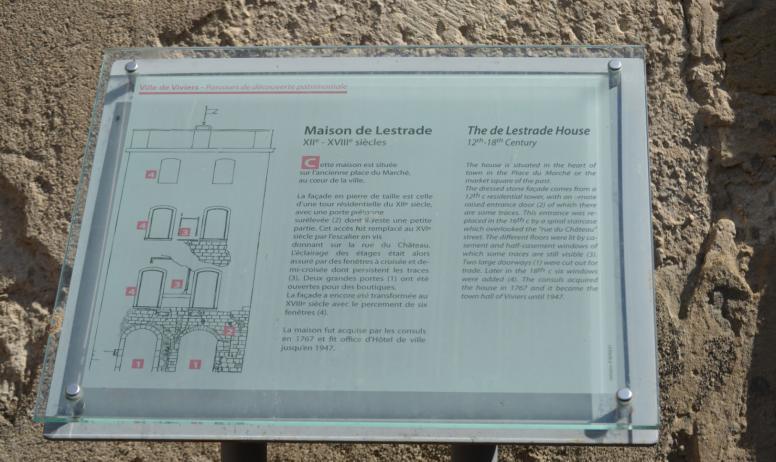 Oti du Rhône aux Gorges de l'Ardèche - Histoire de la Maison de Lestrade