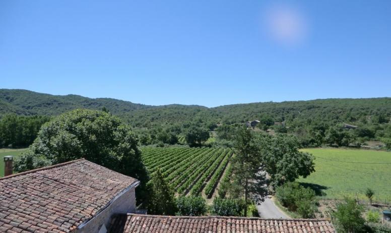Gîtes de France - vue depuis notre terrasse