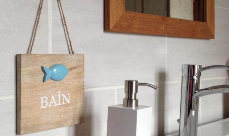 Clévacances - Le refuge des fées, gite en plein cœur de l'Ardèche- salle de bain