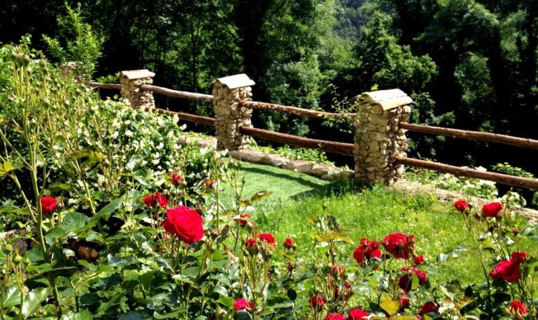 Clévacances - Le refuge des fées, gite en plein cœur de l'Ardèche-le jardin commun