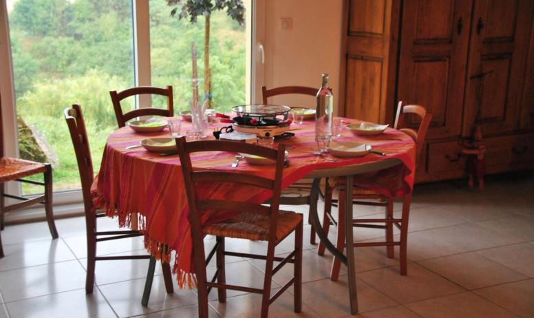 Nadine Marcos Bard - salle à manger