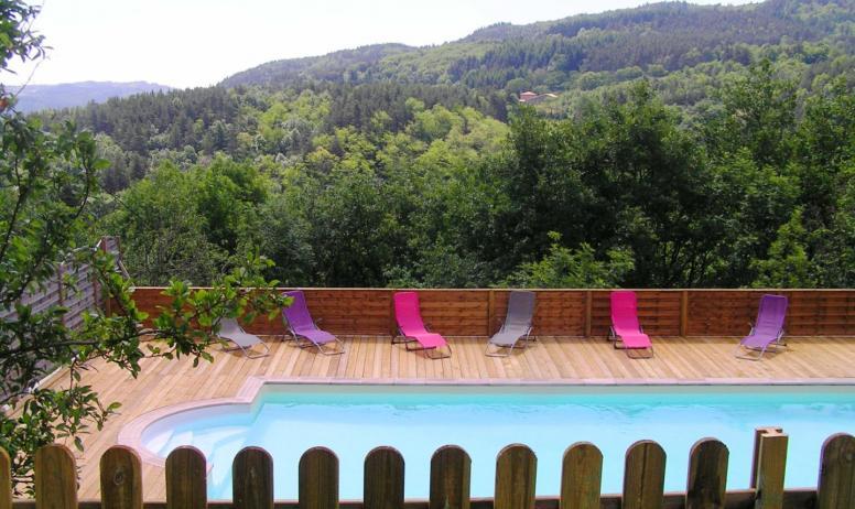 © Domaine du Pray d'Aunay - La piscine