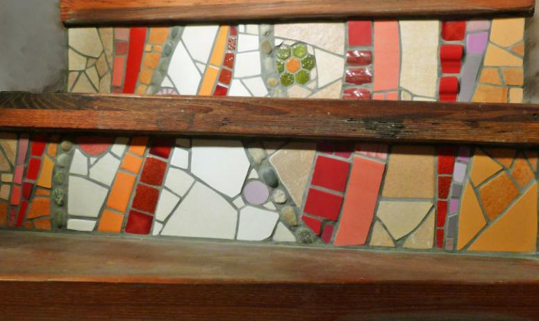 ©Marie Voisin - Montée d'escaliers