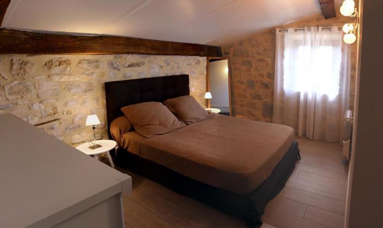 Gîtes de France - 2éme chambre avec une commode