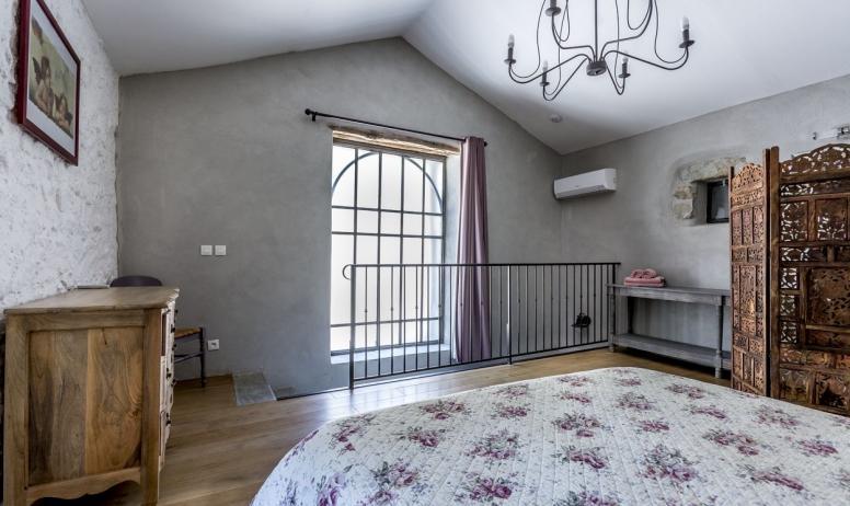 Gîtes de France - la chambre à l'étage..