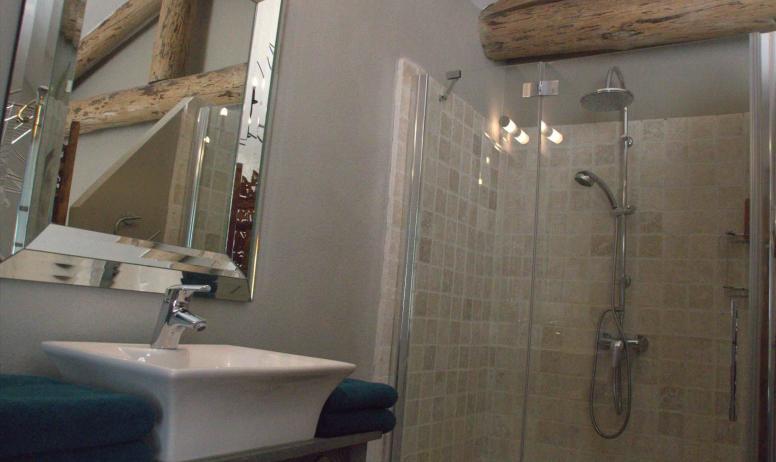 Gîtes de France - la salle de bain..
